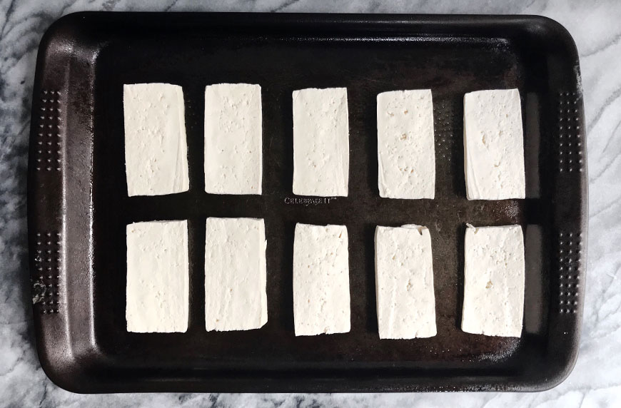how to make crispy tofu without frying it